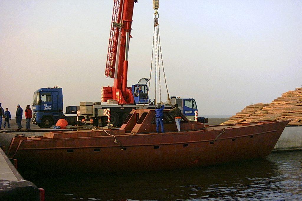 Kauf des Schiffsrumpfes durch die Stadt Ueckermünde