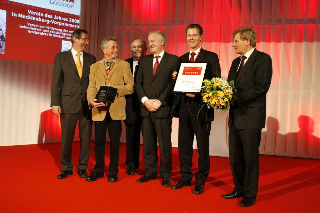 """2008  """"Verein des Jahres"""""""