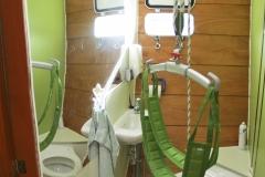 Rollisegler-WC-Vorschiff