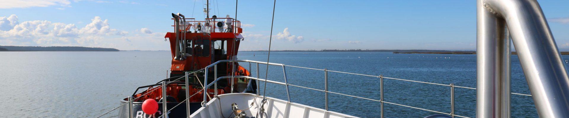 Überführung in die Werft